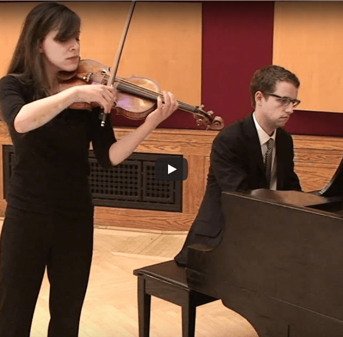 Andrea Levine and Dan Curtis play The Swan, Camille Saint-Saens